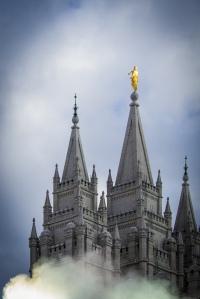 Salt Lake Temple January 2014