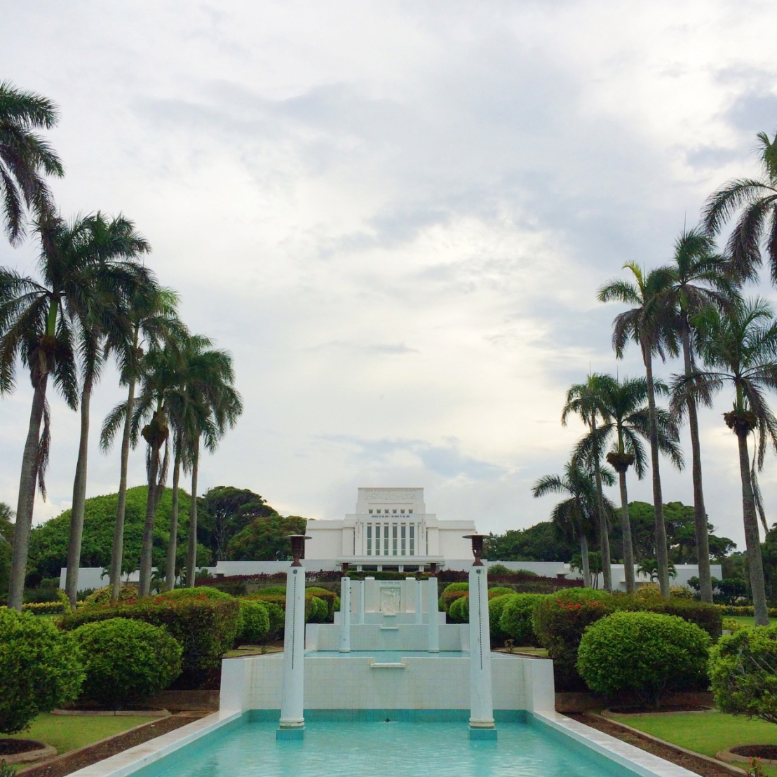 LAIE HAWAII LDS TEMPLE //VIDEO