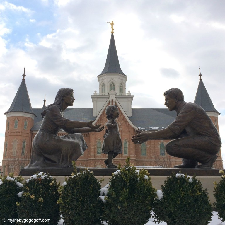 The Must Read Story About The Statue In Front Of The Provo Temple