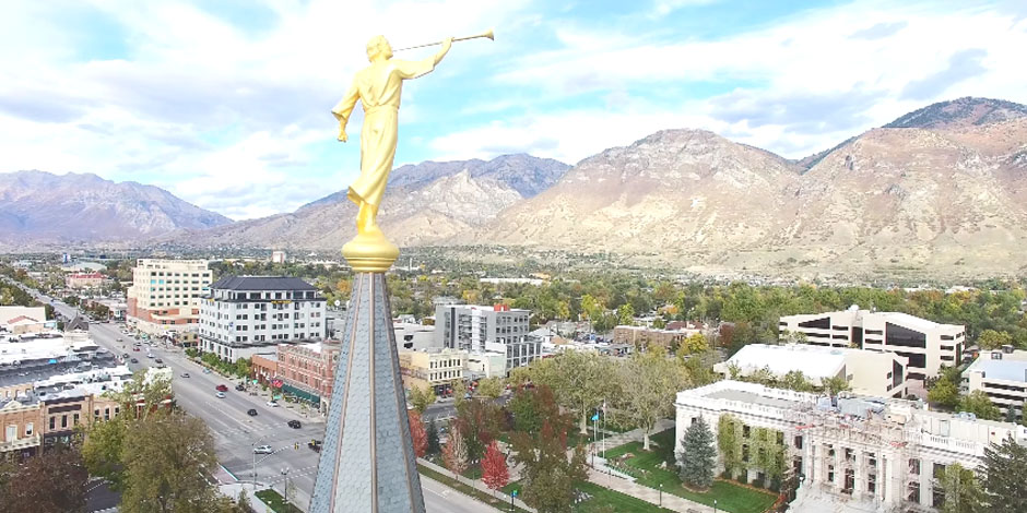 'Utah's Castles' – Beautiful Drone Footage of all 16 Utah Temples | LDS Daily